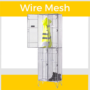 Express Wire Mesh Lockers