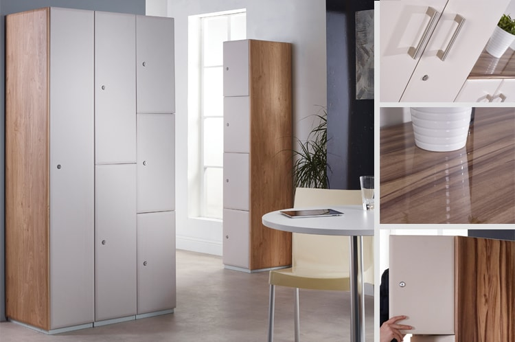 Featured Executive Lockers to complement the Executive Cupboards