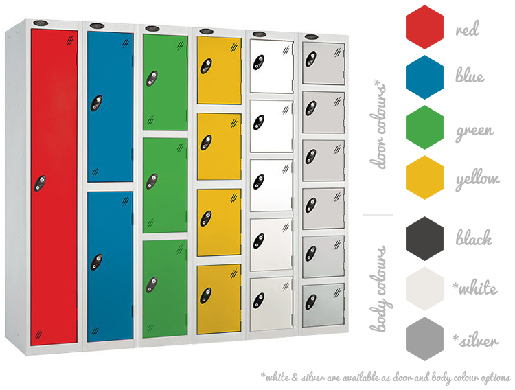 Probe ACTIVECOAT Lockers - Colour Options