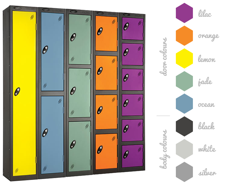Probe Autumn Lockers - Colour Options
