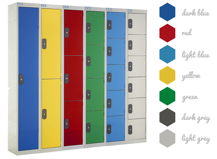 TUFF Locker - Colour Options