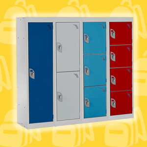 Primary School Lockers - 1100mm