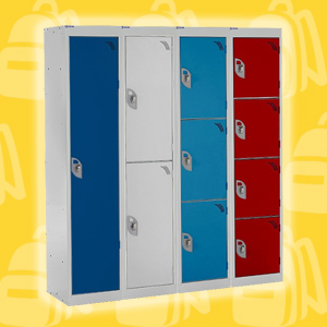 Primary School Lockers - 1356mm