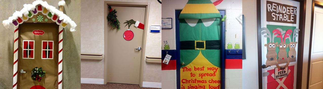 christmas-door-compilation