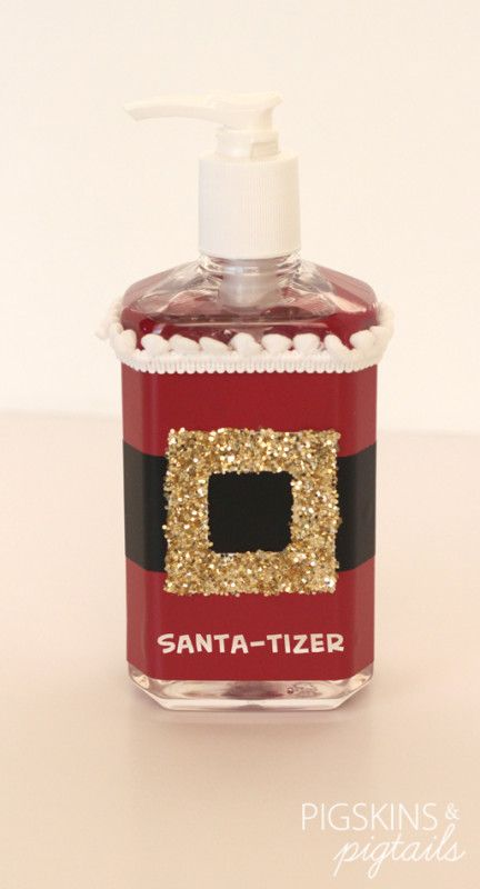 Santa-tizer Office Christmas Decoration