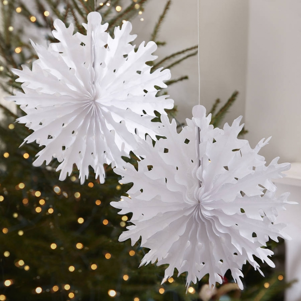 Snowflake Office Christmas Decoration