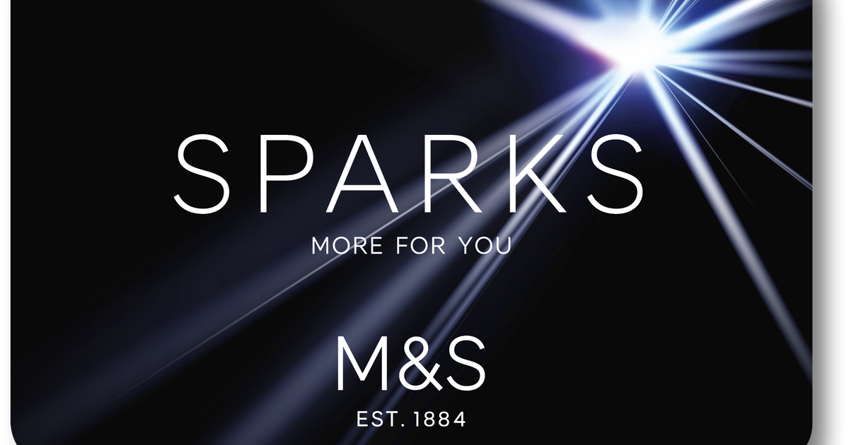 M&S Sparks Card Charity Donation