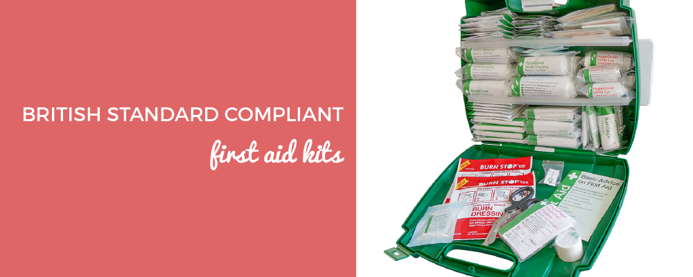 British Standard Compliant First Aid Kits