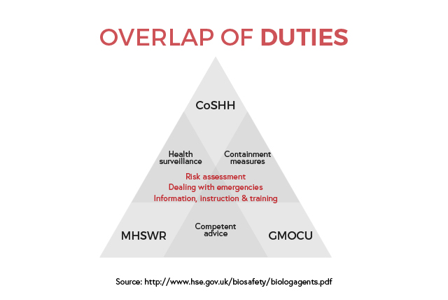 Overlap of Duties
