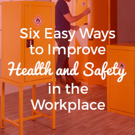 Six Easy Ways to Improve Health and Safety in the Workplace