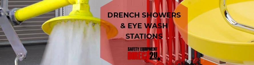 Drench Showers and Eye Wash Stations