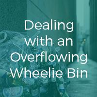 Dealing with an Overflowing Wheelie Bin