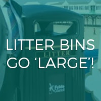 Litter Bins Go Large