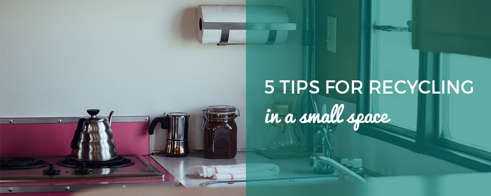 Banner showing Small Kitchen Space and Blog Title