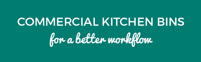 Commercial Kitchen Bins Banner