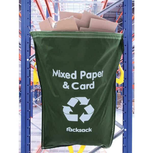 Green Recycling Racksacks