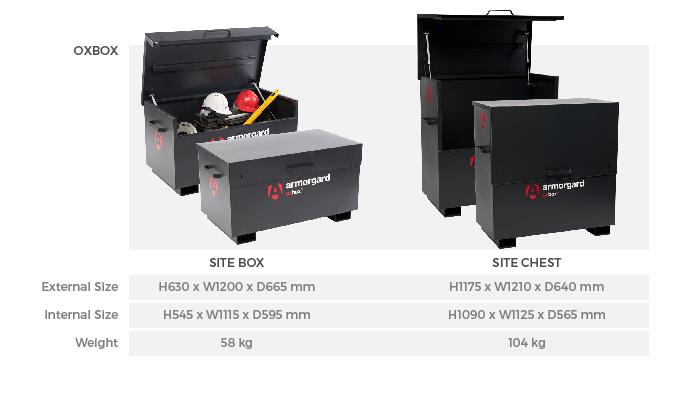 Armorgard OxBox Tool Vaults