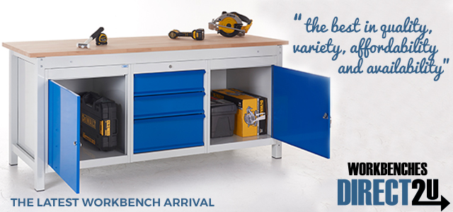 The New TUFF Heavy Duty Workbenches