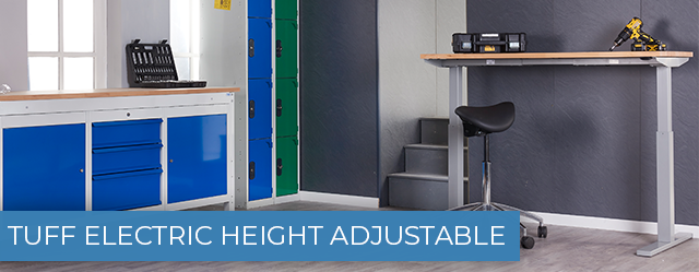 TUFF Electric Height Adjustable Workbenches