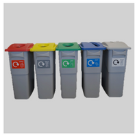 Rubbermaid Slim Jims: The Smart Recycling System