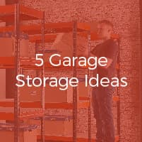 5 Garage Storage Ideas: Time for a Spring Clean