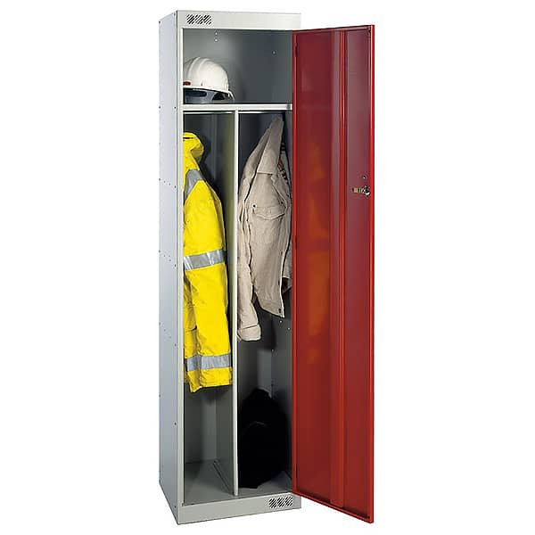 Clean and Dirty PPE Lockers