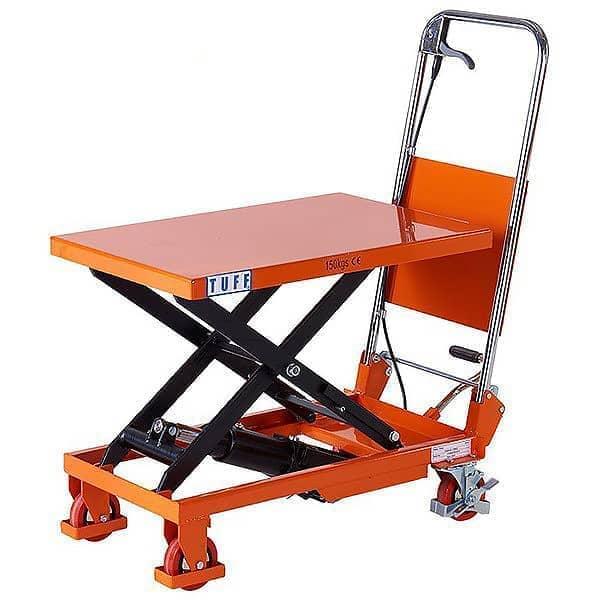 TUFF 150kg Scissor Lift Table