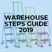 Reach new heights with our warehouse steps