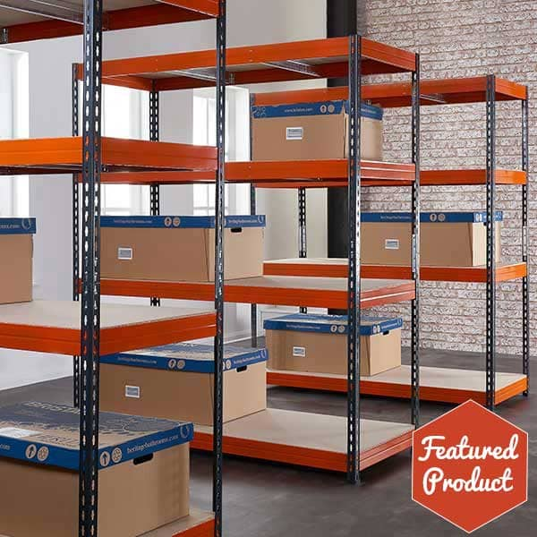 TUFF Shelving 200kg. Available individually or as a bundle deal